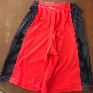 2/$8 Boys under armour shorts, YXS